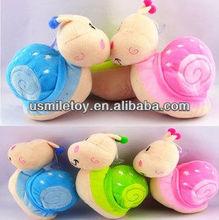 funny soft kids gift animal toys snail plush