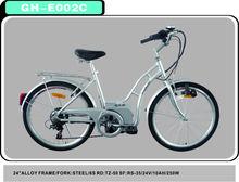 24v 6 speed electric bike e bike city bicycle
