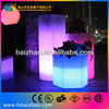 illuminated flower pot/led planter/ light up rechargeable furniture