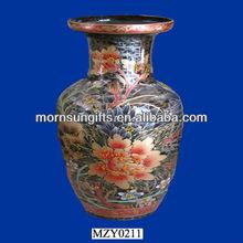 Antique Ceramic Ginger Jar Vase, Beautiful Home Souvenir