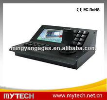 CCTV ptz keyboard MYTECH 3 video input ports RS485 Color Screen PTZ camera Keyboard Controller display camera address