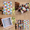PU leather flip for ipad mini cover flower design