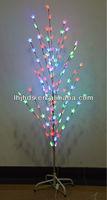 christmas tree led branch lights of colorful stars