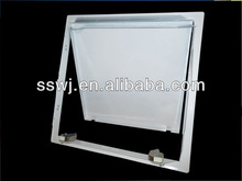 access panel touch latch flange frame finish