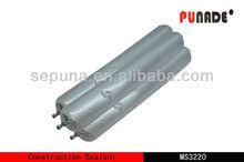 Multi-purpose silicone construction adhesive