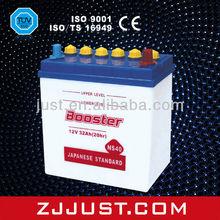Hot Export High Quality Sealed Car Batteries 12V NS40