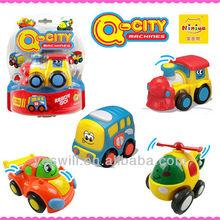 Q-CITY plastic toy vehicle for children