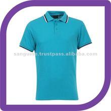 Men's Suburb Polo Shirt - Peacock Blue - Sports