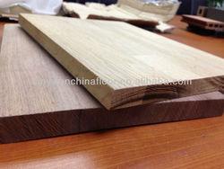 Hot Sale Qualtiy Finger Jointed Solid European Oak and American Walnut Wood Panel