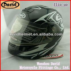 david flip up helmet dot helmet for motorcycle D808