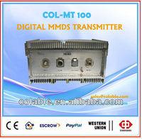Digital tv Transmitter MMDS Broadband QAM/QPSK/COFDM remote fm broadcast Transmitter digital low power tv transmitter