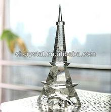 Eiffel Tower Crystal, wedding Eiffel Tower decoration MH-L0333