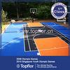 Modular basketball field flooring Composite Flooring