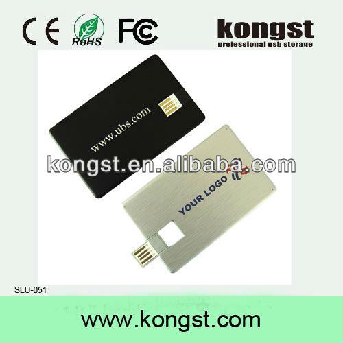 credit card usb/thumb drive /usb drive in low price 1gb 2gb 4gb 8gb 16gb