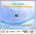 Mmds empfangsantenne/empfänger satelliten empfänger netz antenne fm radio antenne im freien