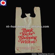 100% virgin material plastic carry handle BAG