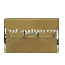 2013 latest hot selling newest design napa leather lady and women purse or wallet clutch