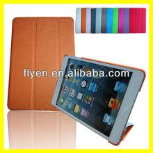 TRI-FOLD SLIM CASE FOR IPAD MINI Tri Fold Folio Smart Leather Case Cover for Apple iPad mini Orange