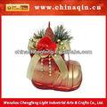 de plástico de navidad decoración botas