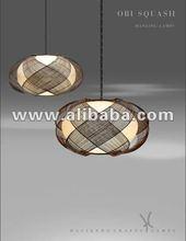 Obi Squash Hanging Lamp