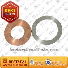 steel grooved flat gasket/metal flat gasket