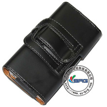 Holster Belt Clip BLACK Leather Pouch Case for iphone 5, protective case for apple iphone 5