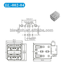 double-deck Two USB connectors Customized processing