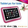 Hottest item kids tablet 7 inch dual camera