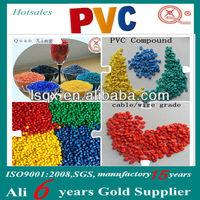 Factory price HI-90 plastic soft PVC pellet for cable jacket
