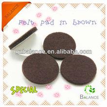 Furniture leg non-woven glides adhesive pad