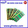 FCC CE RoHS original chips so dimm ddr2 2g 800 memory module