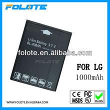 New Original Battery For LG BL-40MN for Rumor Reflex LN272 Xpression X395 Converse Freedom