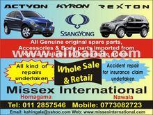 Rexton - Kyron - Actyon