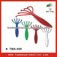 supply all kinds of mini massager plastic hand massage
