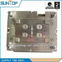 Metal insert plastic injection mold