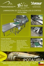 machine for processing squid (fillets and slices), Jibia, Sepia, Pota, Cuttlefish