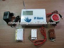IP Alarm Communicator,LCD wireless Internet Alarm
