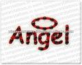 Tatuaggio di angelo