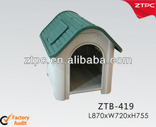 pet kennel with opening window plastic doggy cat house
