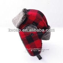 Aviator Bomber Faux Fur Winter Ski Trooper Trapper Ear Flap Hat Cap