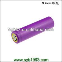 China bateria imagem de li bateria de 18650 células sy-1s 3000 mah 3.6 v