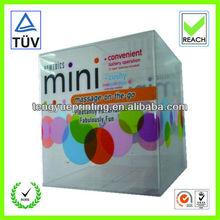 rectangular square plastic pvc/pet/pp box packaing