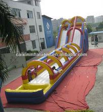 inflatable giant water hippo slide / inflatable pool slide/ giant pool slide