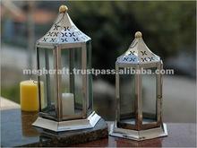 Decorative moroccan candle lantern / indoor - outdoor candle lantern / Decorative items