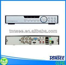 4CH H.264 cloud tech dvr audio cd recorder BE-9604H