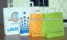 80/100/120GSM Flat Handle Eco Shopping Bag