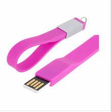 Silicone bracelet USB flash disk, wristband USB flash stick , hand band USB flash drives