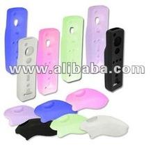 Silicone Case Skin Cover for Nintendo Wii Remote Control Nunchuk