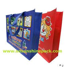 bopp film laminated pp woven bag shopping used bag