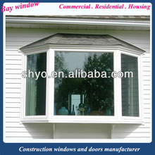 outdoor aluminum or pvc lowes bay window